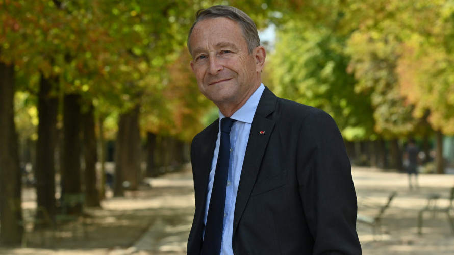 """Le général Pierre de Villiers, auteur de """"L'équilibre est un courage"""" (éd. Fayard) ©Elodie GRÉGOIRE/FAYARD"""