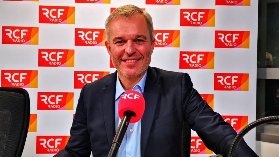 François de Rugy au micro de la Matinale RCF