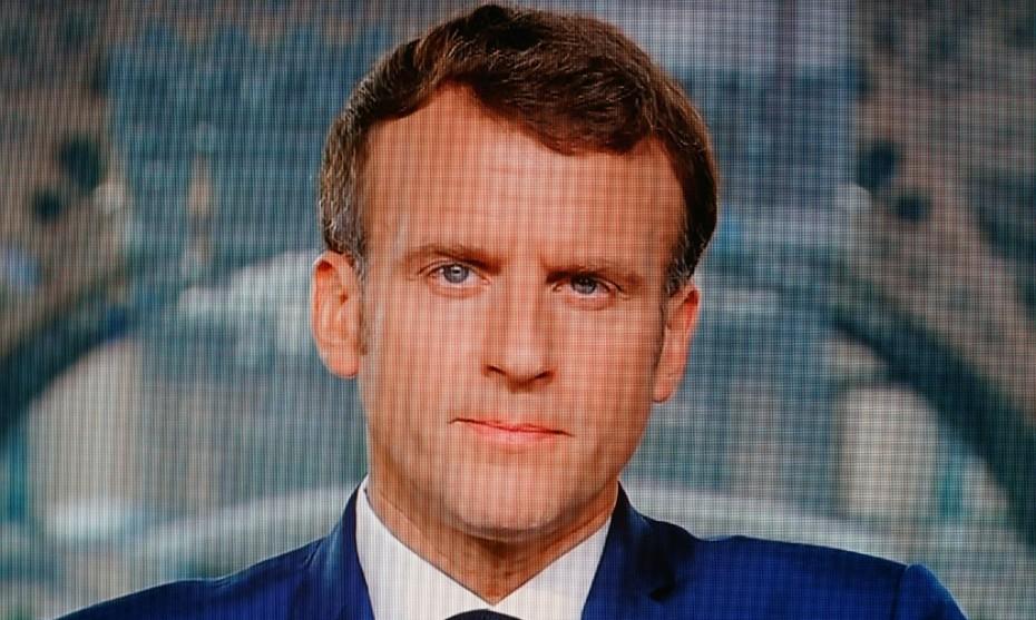 Emmanuel Macron - LUDOVIC MARIN / AFP