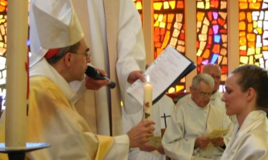 Rassemblement national de Vierges consacrées en Haute-Savoie en 2012