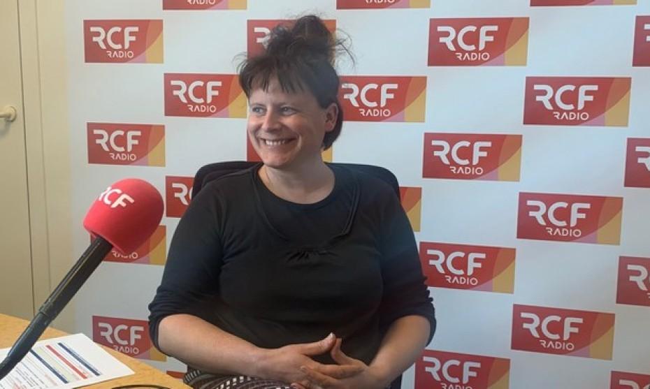 RCF - Sandrine Boireau, agricultrice dans le Rhône