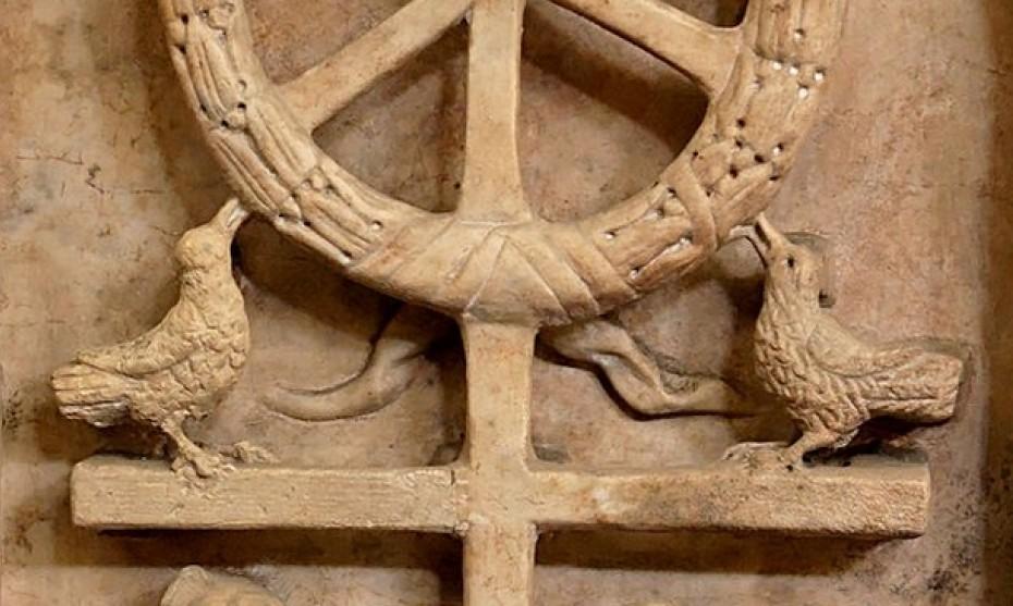 Wikimedia Commons -  Anastasis, vers 350, musée Pio Cristiano