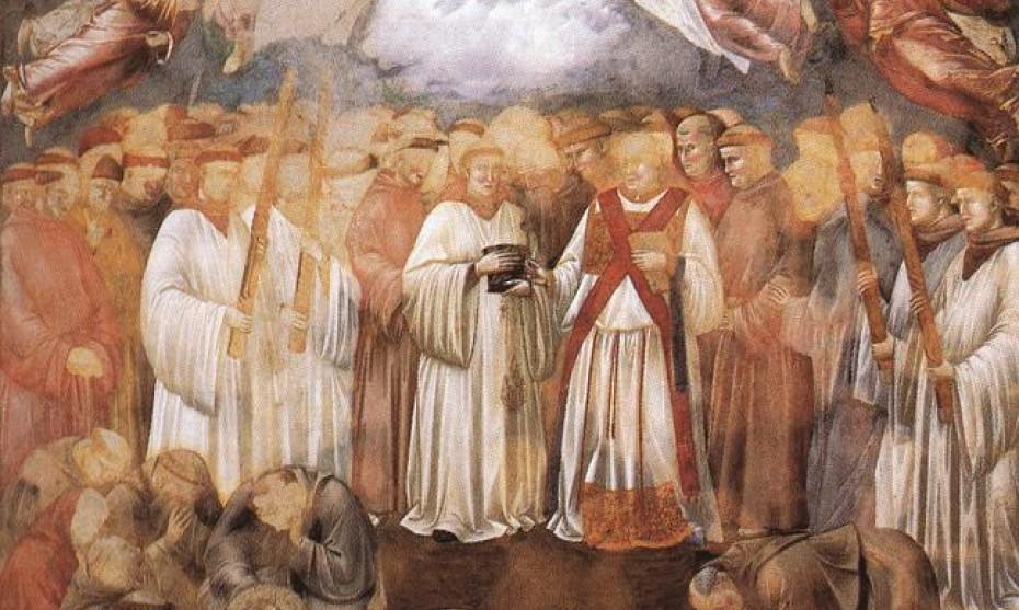 2017 - Giotto Assise Ascension de l'âme de saint François d'Assise
