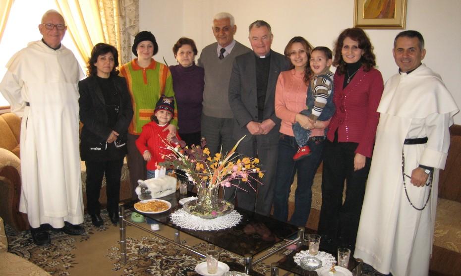 Photo RCF Alsace : le père Rodolphe Vigneron lors d'un précédent voyage en Irak
