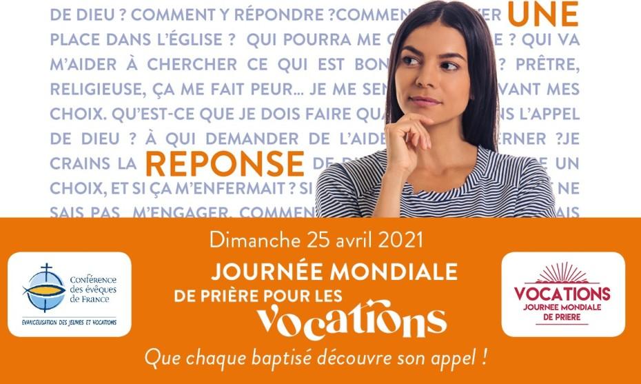 2021 Affiche du Service National Evangélisation des Jeunes et Vocation