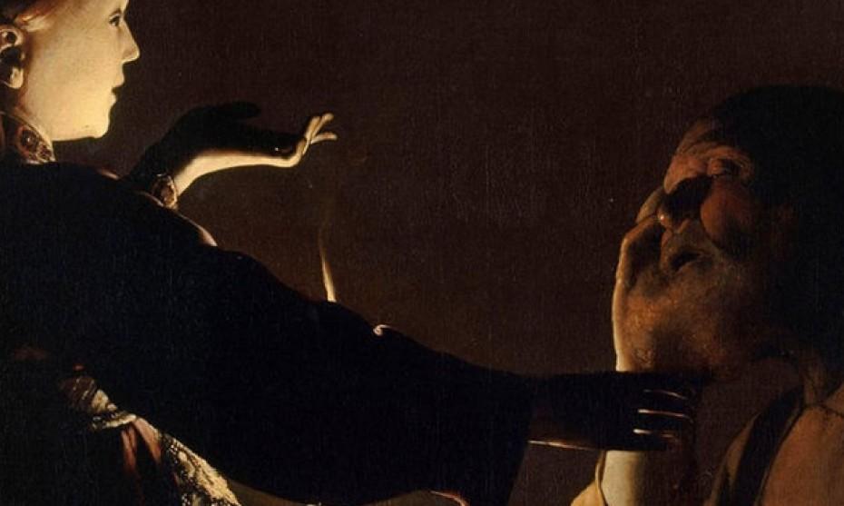 Wikimedia Commons -  Georges de La Tour, L'Apparition de l'ange à Joseph, musée des beaux-arts de Nantes.
