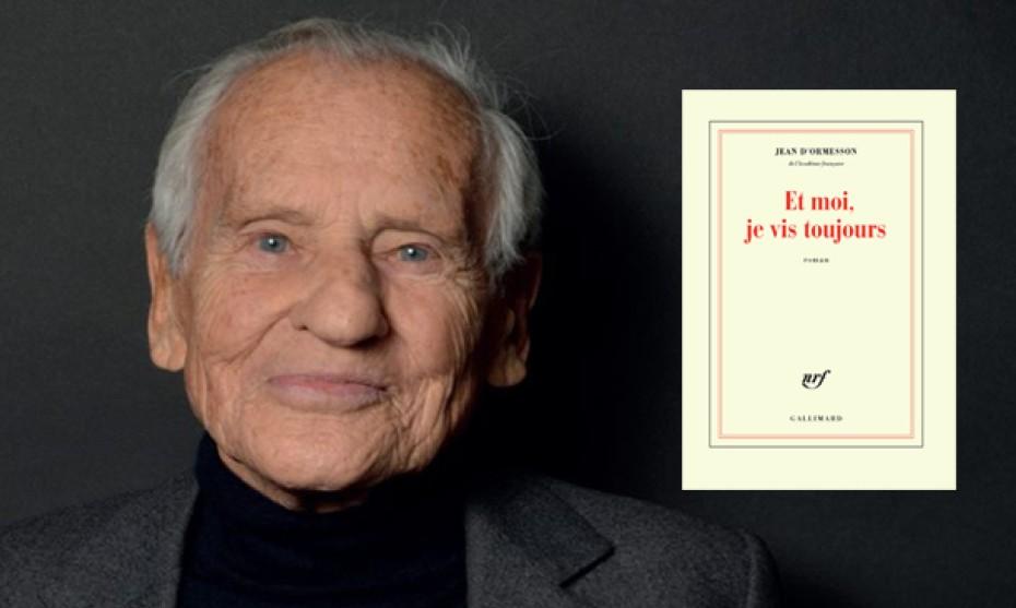 """Catherine Hélie Gallimard - Jean d'Ormesson allait publier en février 2018 """"Et moi je vis toujours"""" (éd. Gallimard)"""