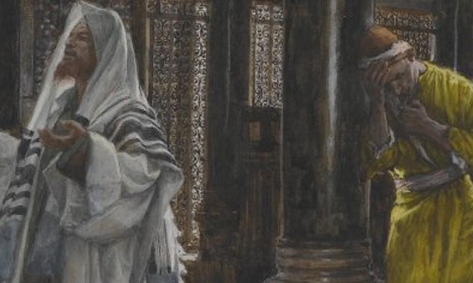 Wikimedia Commons -  Le Pharisien et le publicain par James Tissot, exposé au Brooklyn Museum, à New York.