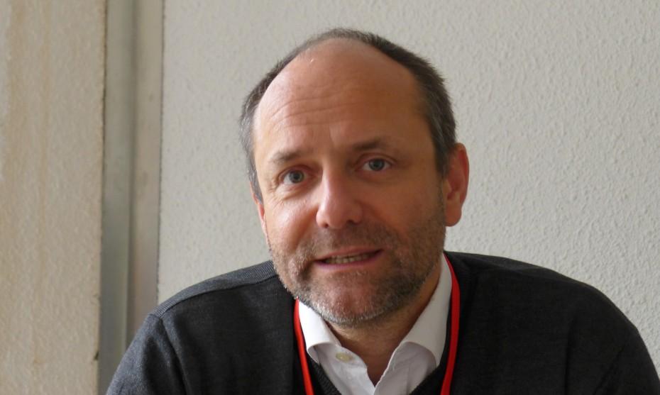 """Photo RCF Alsace : Hubert de Torcy, distributeur du filme """"Jésus l'enquète"""" en France"""