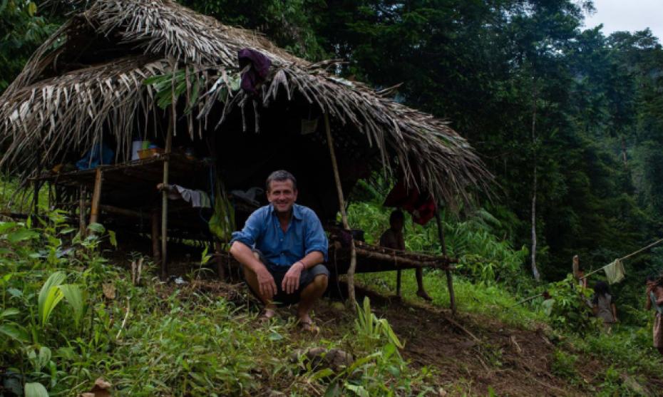 Pierre de Valombreuse dans sa vallée chérie à Palawan aux Philippines