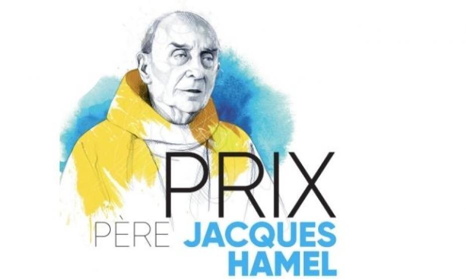 Illustration de l'affiche du prix père Jacques Hamel 2021