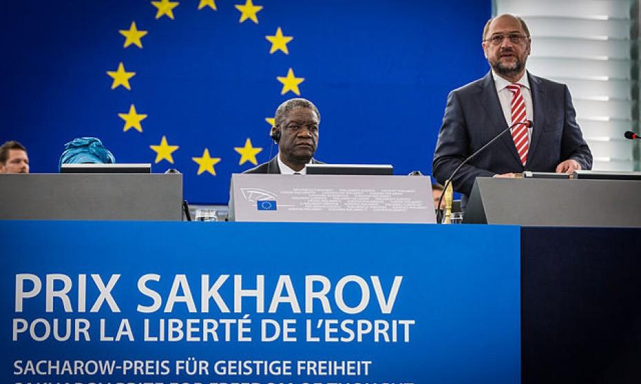 Prix Sakharov 2014 crédit Claude TRUONG-NGOC
