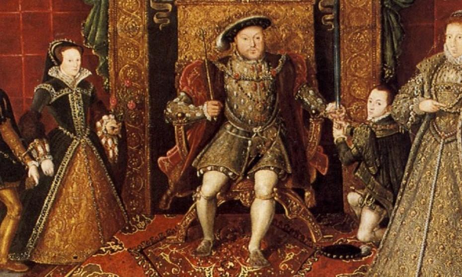 Wikimédia Commons - La famille d'Henri VIII: Allégorie de la succession des Tudors - Sudeley Castle, Gloucestershire