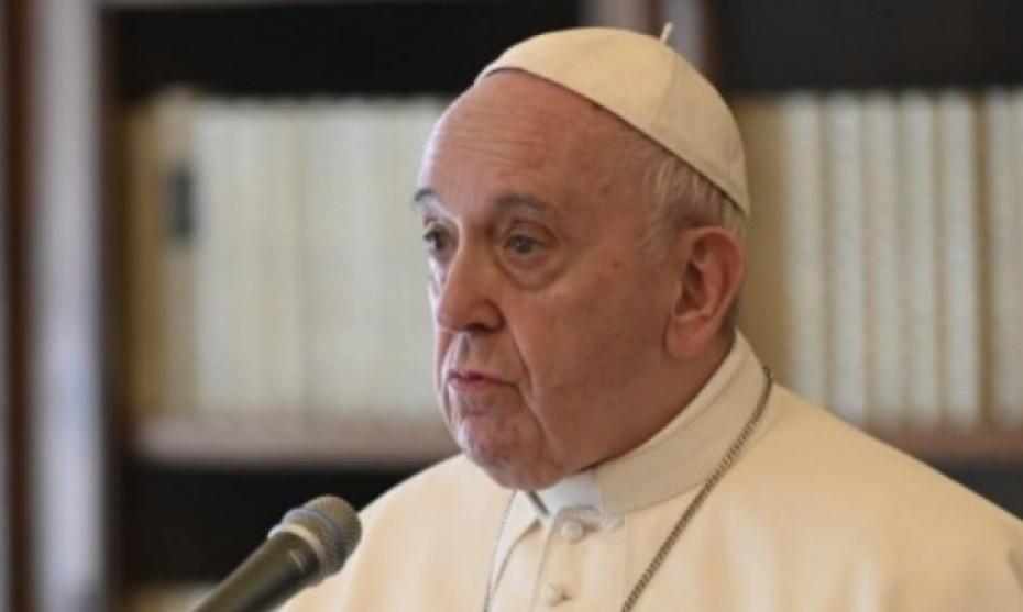Vatican - Le 03/05/2020 : à l'issue de la prière du Regina Coeli, le pape François invite les catholiques à s'unir à la grande prière interreligieuse