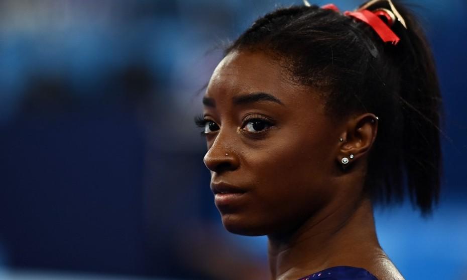 L'athlète américaine Simone Biles - LOIC VENANCE / AFP