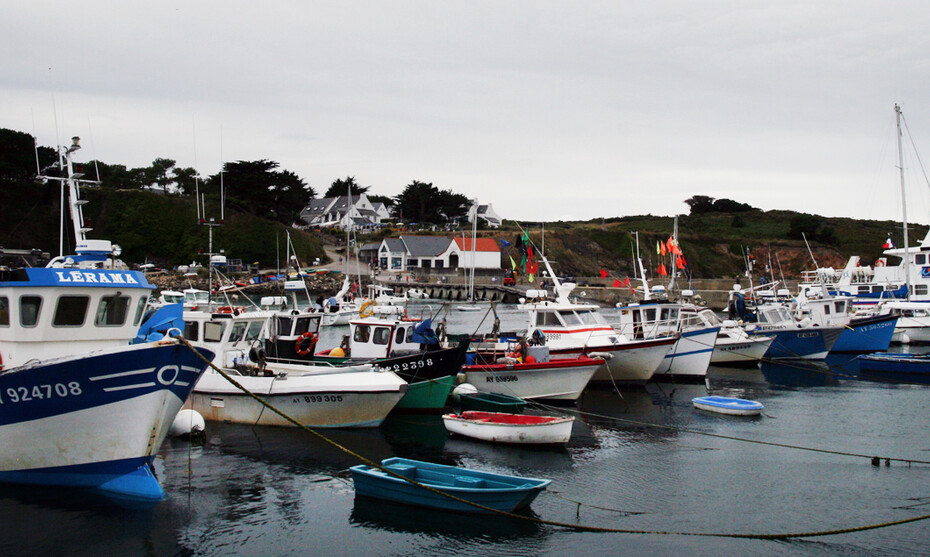 Houat, port Saint-Gildas @Wikimédia commons
