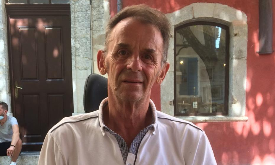 Patrick Gervois est le président de l'association Parkinson Berry.