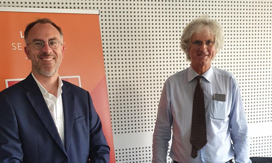 Eric Maurice et Michel Maroy ©1RCF Belgique
