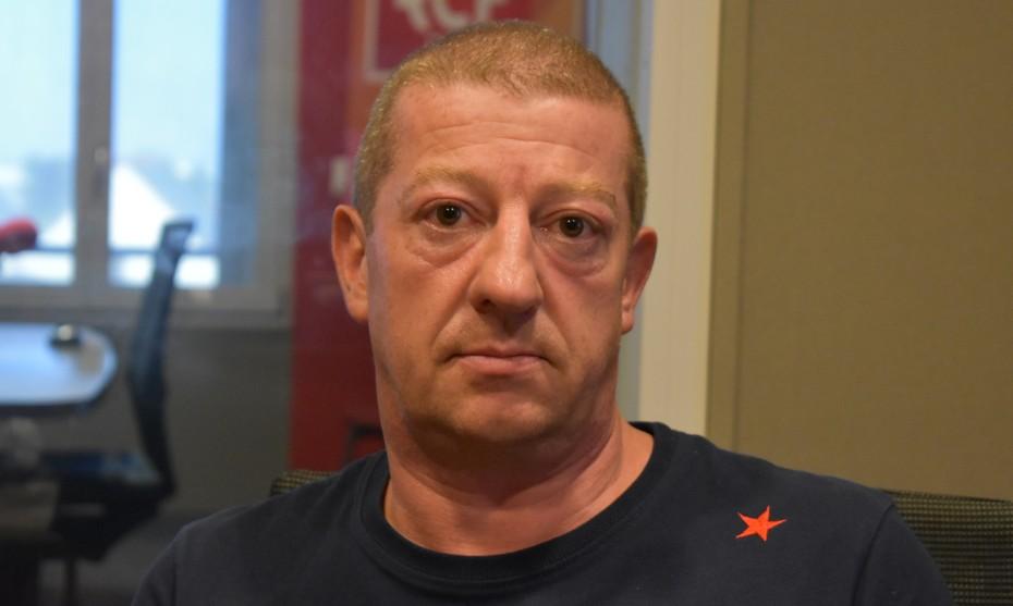 Olivier Clément, secrétaire CGT chez TKE