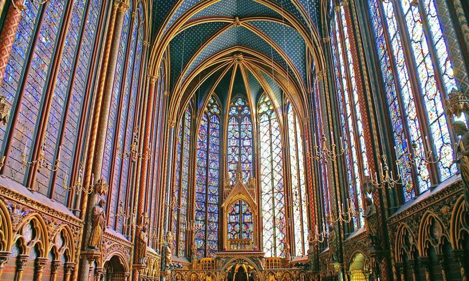 La Sainte Chapelle à Paris / ©Wikimedia Commons