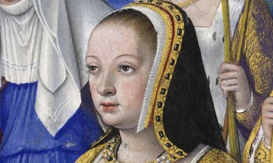 Représentation d'Anne de Bretagne par Jean Bourdichon ©Wikimédia Commons