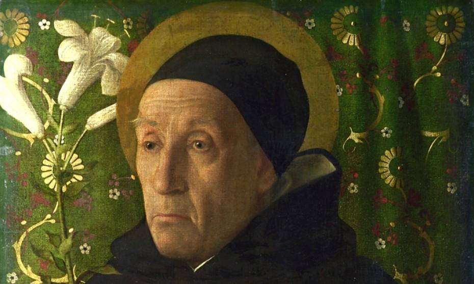 Souvent considéré comme celui de Maître Eckhart, ce portrait représente Fra Teodoro d'Urbino en saint Dominique ©Wikimédia commons