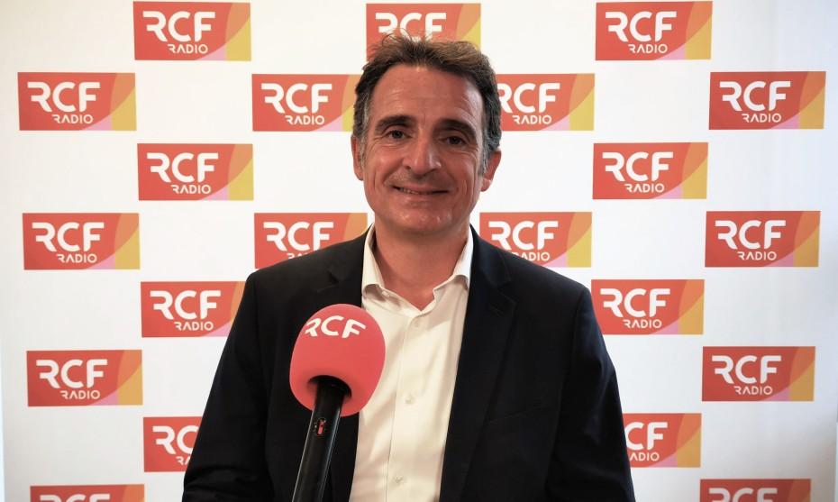 Éric Piolle, maire de Grenoble, et candidat à la primaire écologiste ©RCF
